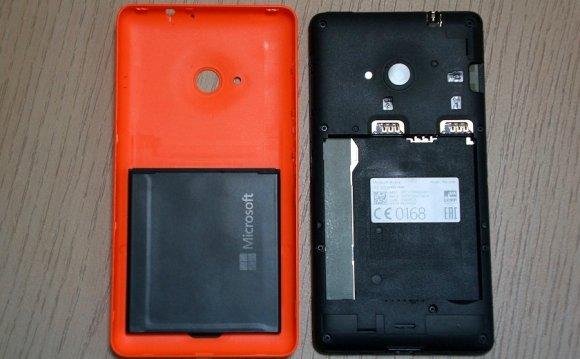 Обзор смартфона Microsoft