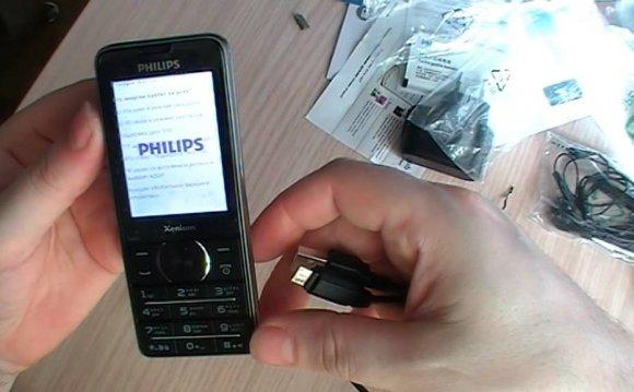 Обзор Телефона Philips1560