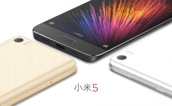 Xiaomi Mi5 – официальное фото