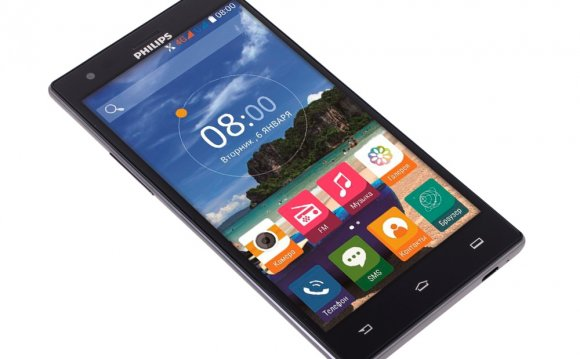 Смартфон Philips S616 (Dark